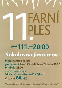 Příprava Sokolovny na 11. farní ples 2019